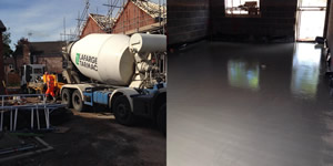 Concrete Pumping & Liquid Screed Services